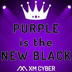 Purple is the New Black - Square